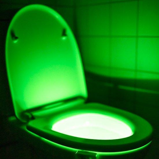 toalett belysning