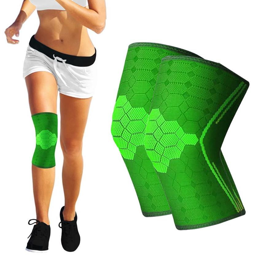 Knee protection with compression and anti-slip-NO